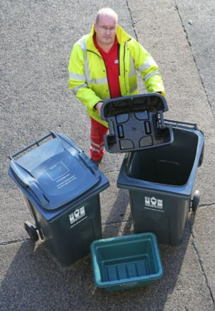 Halton's bin collections will be a day later than usual next week