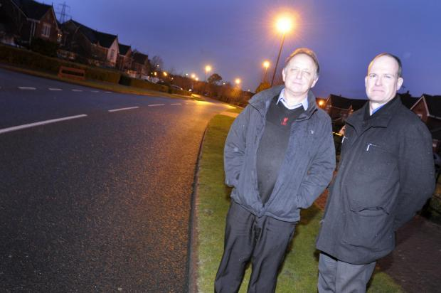 Runcorn and Widnes World: Sandymoor protestors Chris Pantazides and Gavin Segal