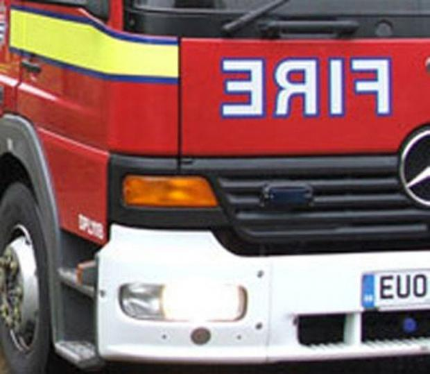 Firefighters tackle fire at derelict building in Runcorn