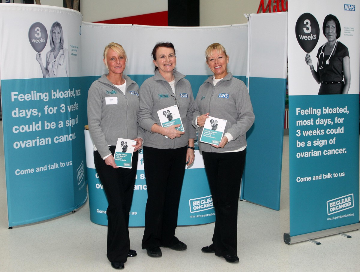 Halton women encouraged to be aware of ovarian cancer symptoms