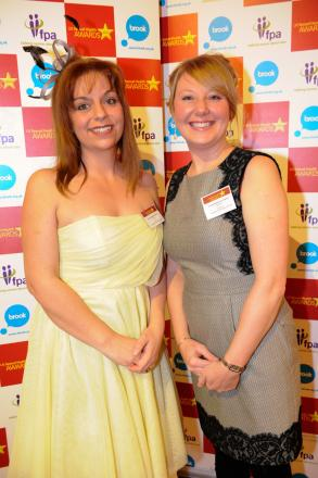 Paula Walker and Caroline Atkinson from Young Addaction Halton