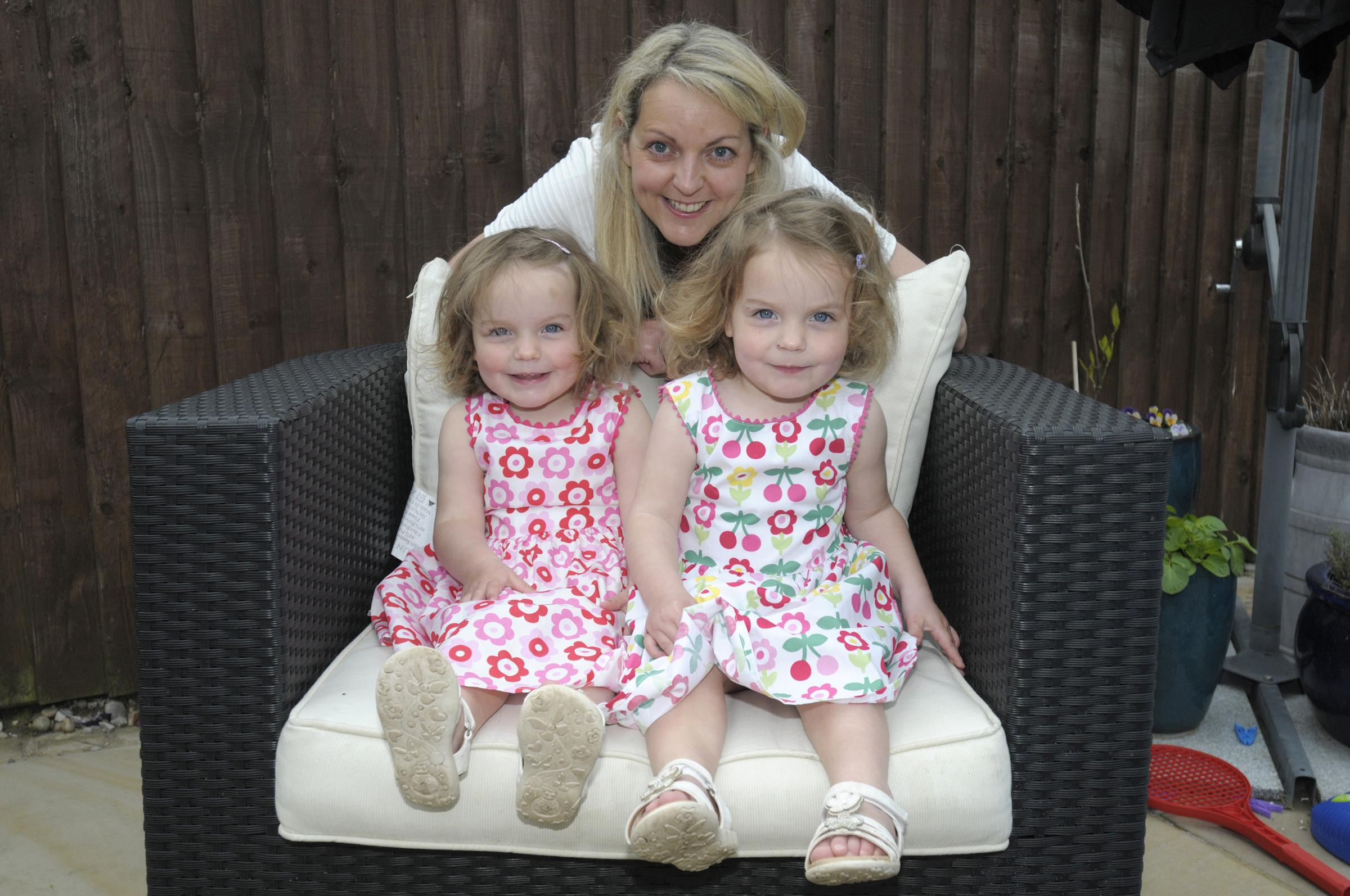 Identical twins inspire Widnes mum to embark on new career