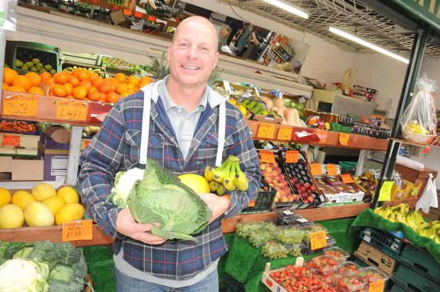 Widnes fruit and vegetable trader David Harrison