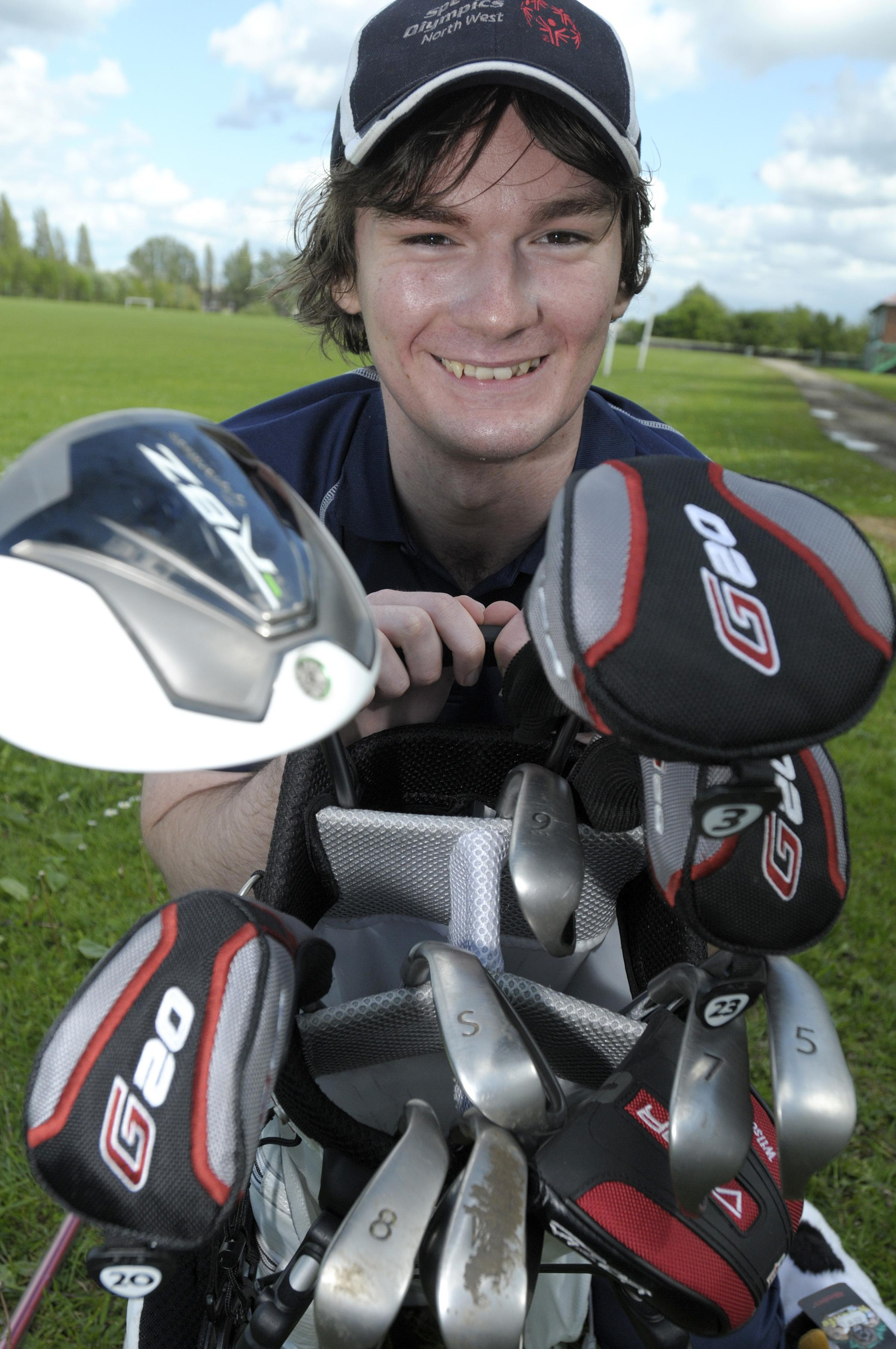 Widnes golfer chosen for Special Olympics World Summer Games