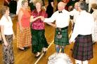 Country dancing, one of the interest groups