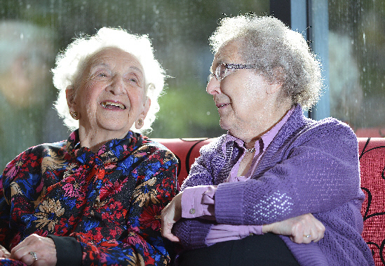 Pensioners met regularly at Chapelfield Community Centre