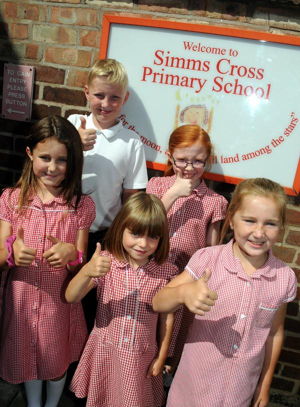 Simms Cross Primary School declared good by Ofsted inspectors