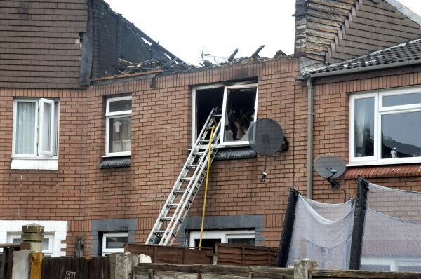 UPDATED WITH PICS: Homes evacuated after Runcorn fire