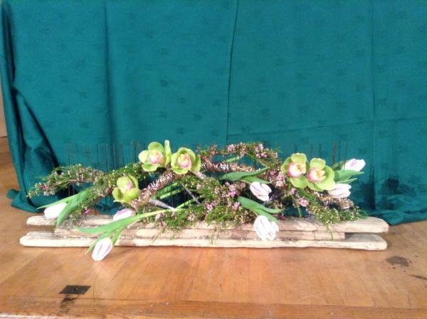 Turn over a new leaf at Widnes flower demonstration