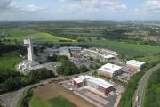 An aerial view of Sci-tech Daresbury