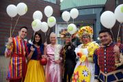 TV celebrities join the panto cast for the Brindley celebrations MBA270914 (10932694)