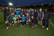 Vikings beat Saints to lift Karalius Cup (Picture: Bernard Platt)