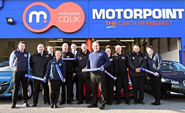 Motorpoint named one of the top 100 best mid sized companies