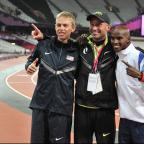 Runcorn and Widnes World: UK Anti-Doping is investigating the doping allegations surrounding Alberto Salazar, centre