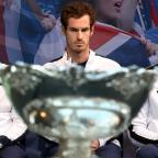 Runcorn and Widnes World: Andy Murray has his sights set on winning the Davis Cup for Great Britain
