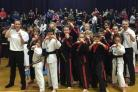Matt Fiddes martial arts students celebrate success at the British championships