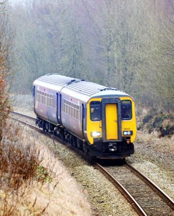 Trains disruption due to damaged electric wires