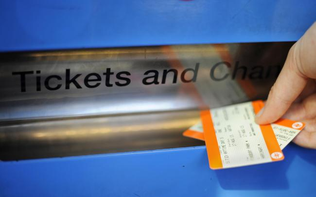 Picking up British Rail tickets
