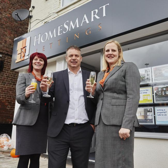 Directors John and Helen Pass and lettings negotiator Janessa Walker