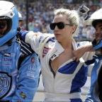 Runcorn and Widnes World: Lady Gaga goes for a drive with Mario Andretti at the Indy 500