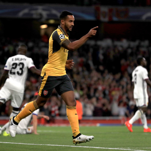 Theo Walcott double sees Arsenal beat Basle in the Champions League (From Runcorn and Widnes World)