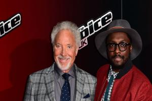 will.i.am is pretty excited about the return of Sir Tom Jones to The Voice