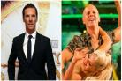Benedict Cumberbatch commentating on Judge Rinder's Strictly dance is truly incredible