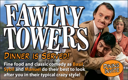 Fawlty Towers Comedy Night and Interactive Dinner Show, Haydock