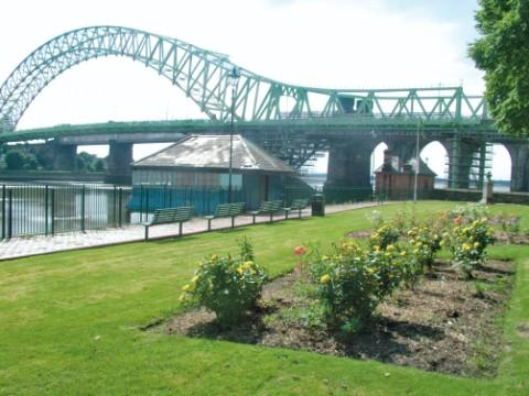 Student Gareth Llewellyn was found by the rocks beneath the Silver Jubilee Bridge in West Bank