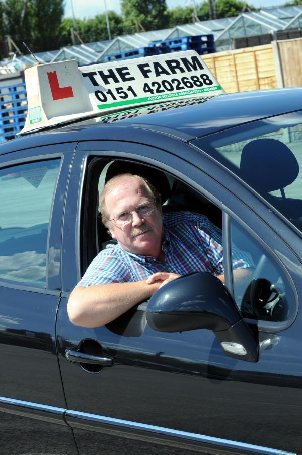 Widnes driving instructor Graham Cain fears bridge tolls will put small businesses at risk