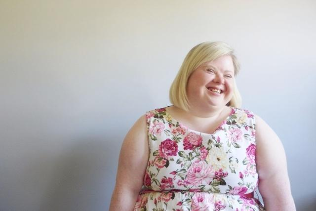 Leah Jones who is hosting a drop in workshop to celebrate Down syndrome