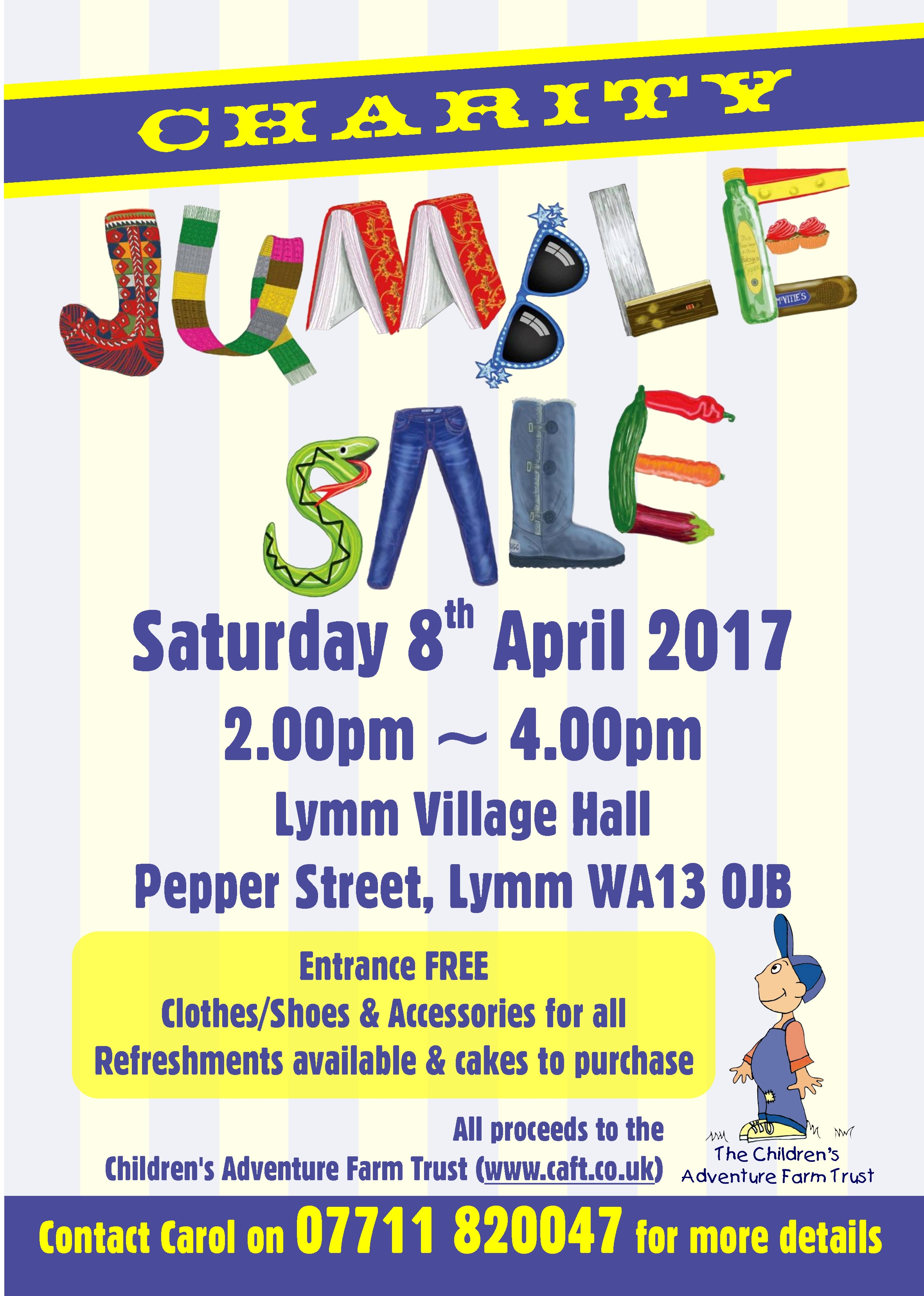 Charity Jumble Sale in Lymm