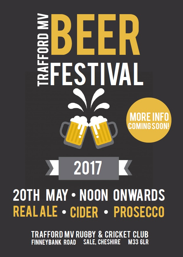 TRAFFORD MV BEER FESTIVAL AND CHARITY FUN DAY