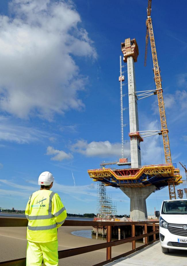 Win a trip to see the Mersey Gateway being constructed