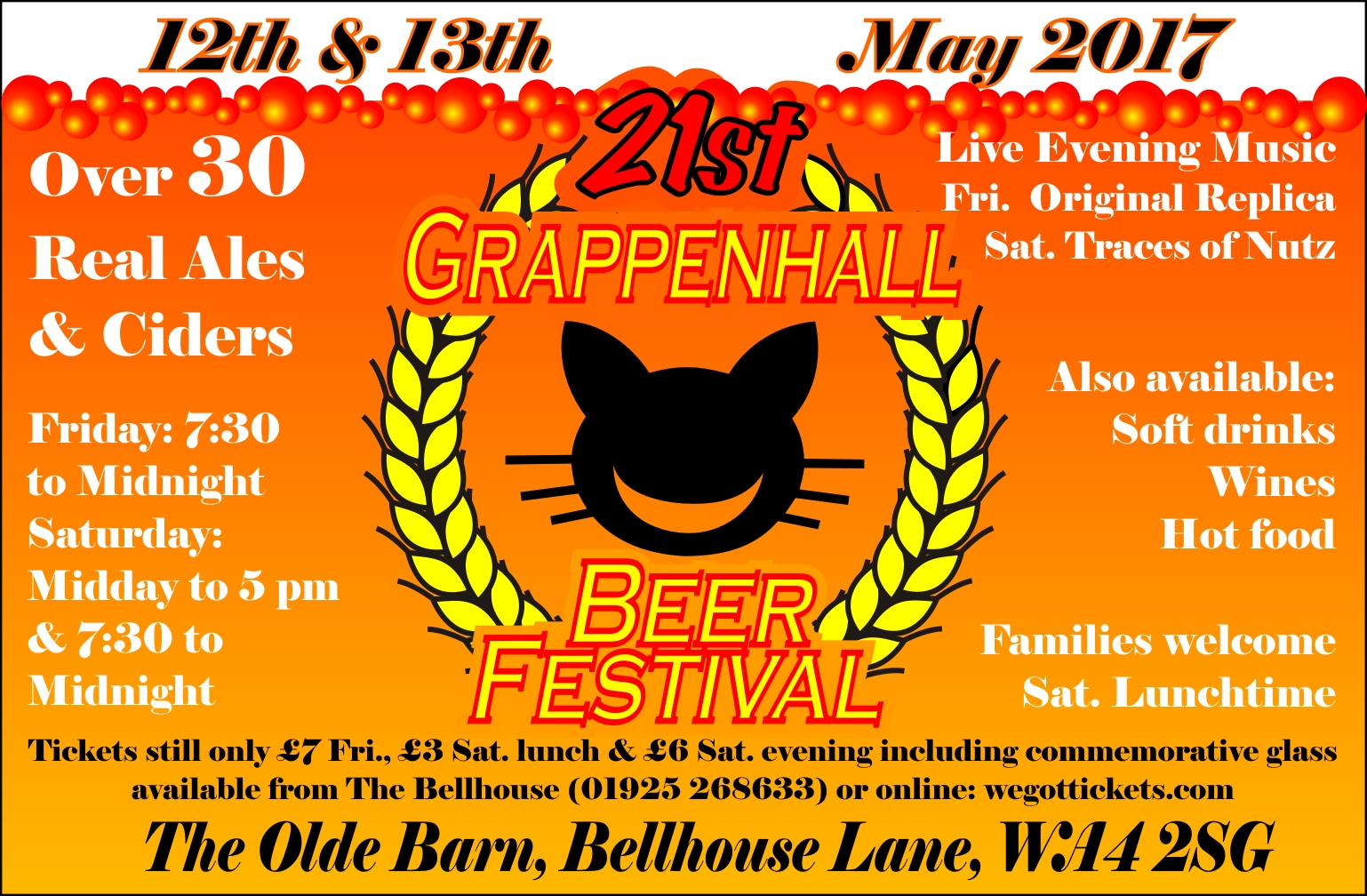 Grappenhall Beer Festival