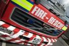 Two fire engines were called to the house at Batherton Close