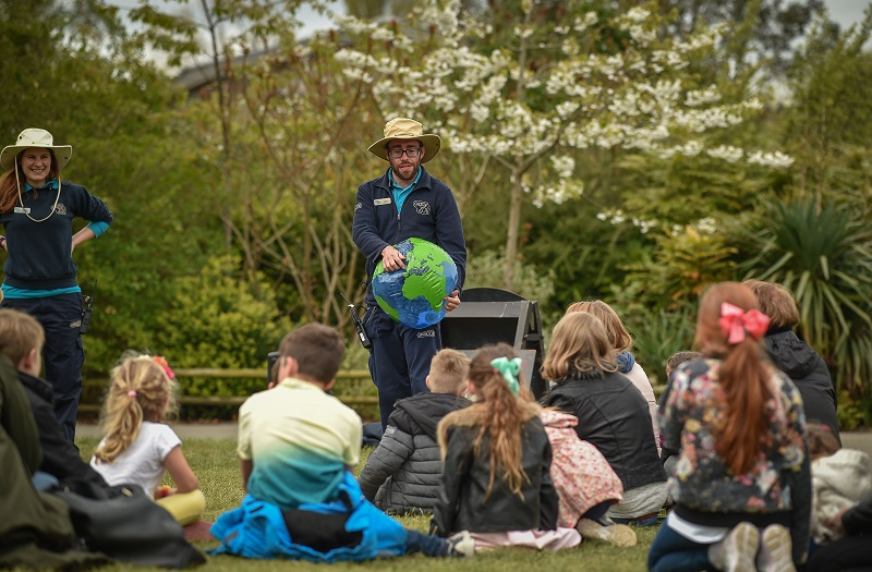 Chester Zoo hope to inspire the next generation of conservationists