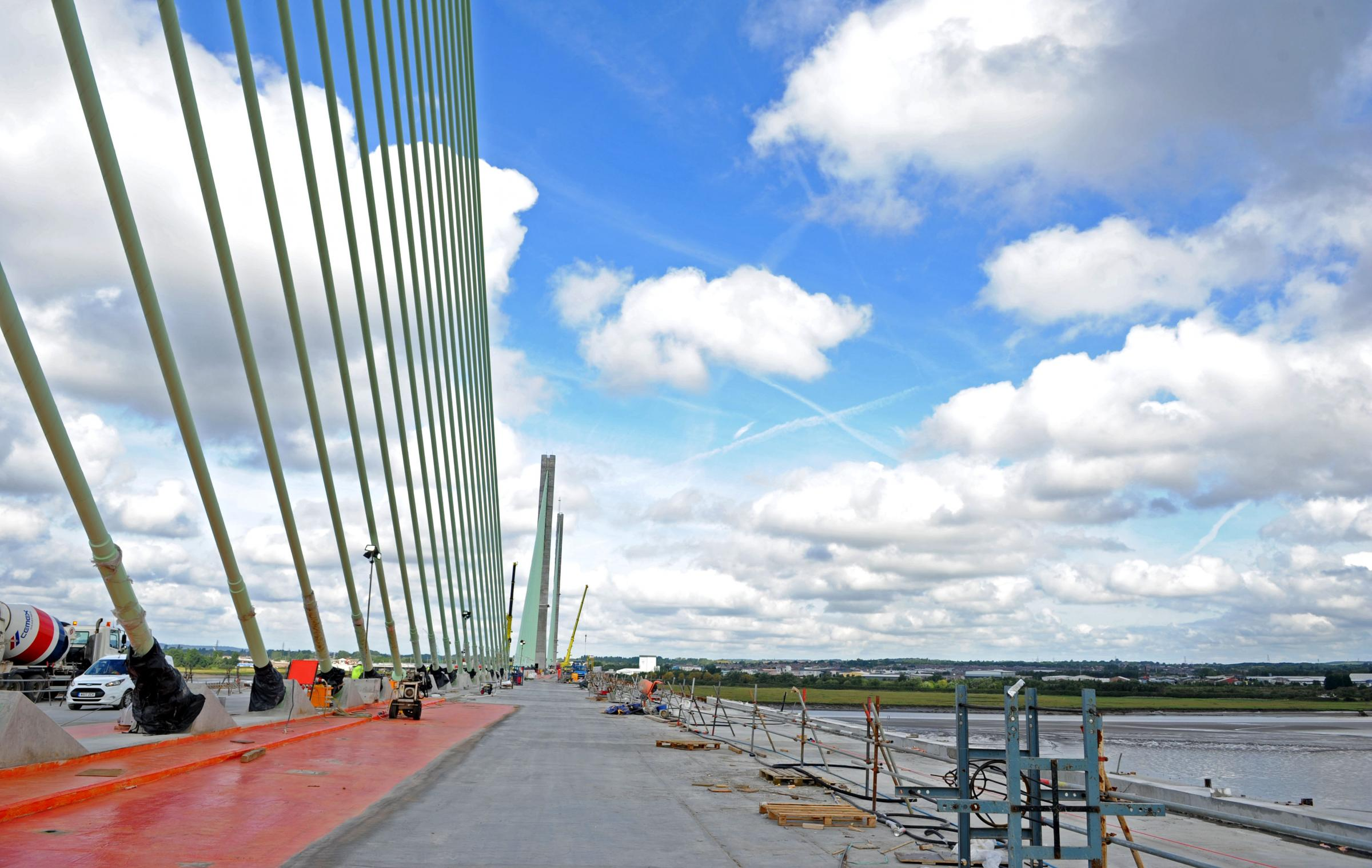 Toll registration expected to rocket as bridge could open as early as mid-September