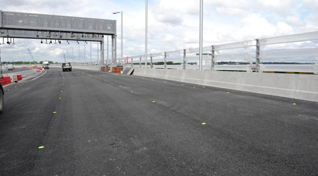 Police, fire and ambulance crews will be taking part in a major emergency planning exercise on the Mersey Gateway bridge this morning
