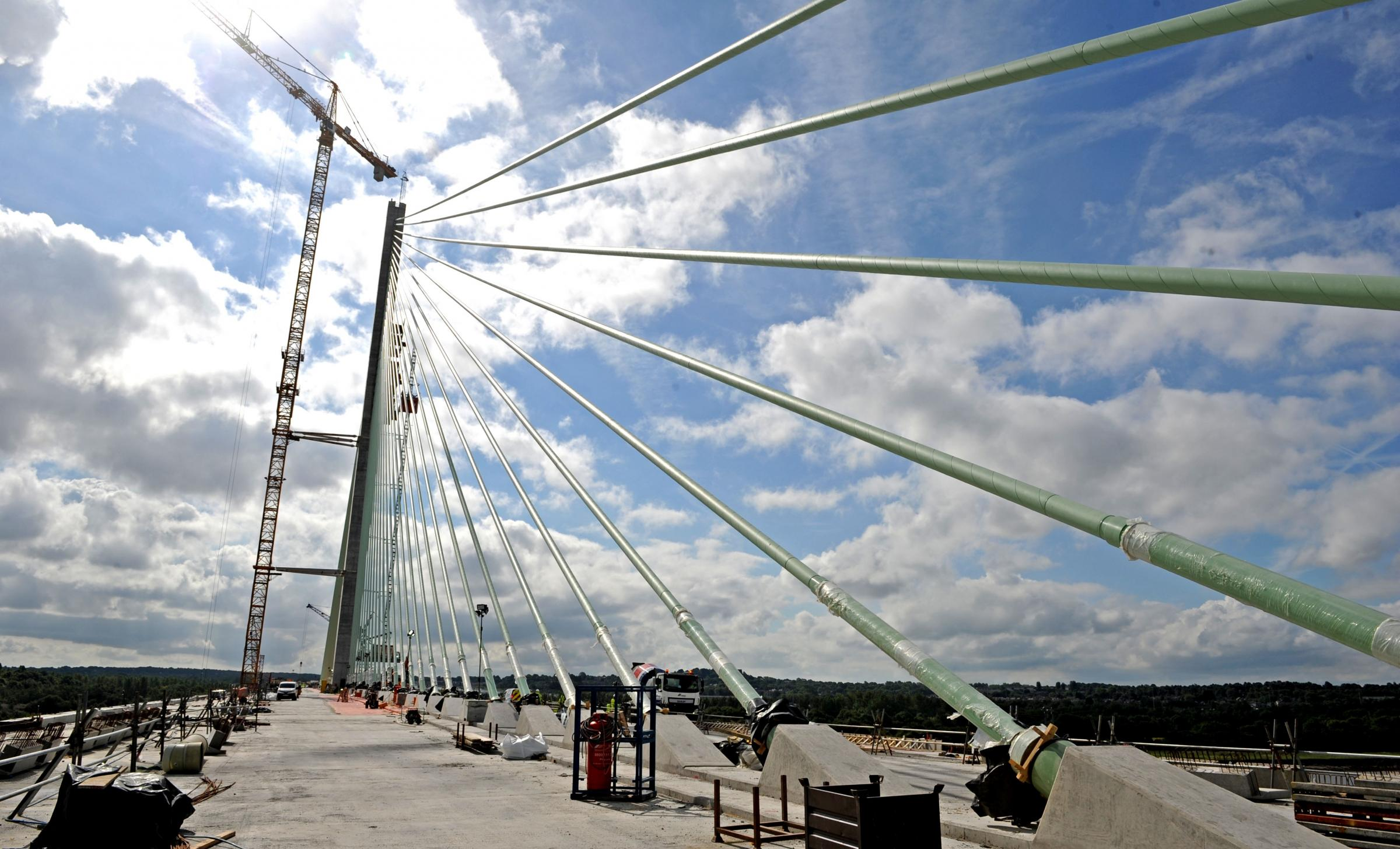 Mersey Gateway could open in two weeks if the weather allows final work to be completed