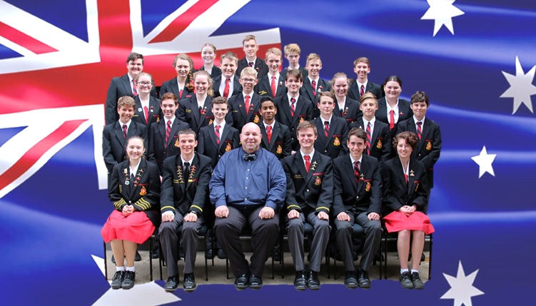 n concert: Rockhampton's school Big Band (AUS) & North Cheshire Wind Orchestra
