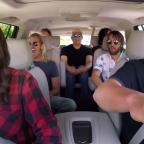 Runcorn and Widnes World: Foo Fighters rock out with James Corden in Carpool Karaoke (The Late Late Show with James Corden YouTube)