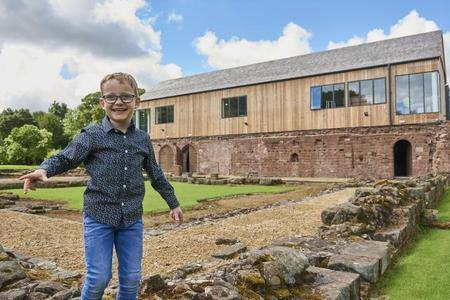 Visitors can follow in the footsteps of Dominic Green and explore 900 years of history at Norton Priory Museum
