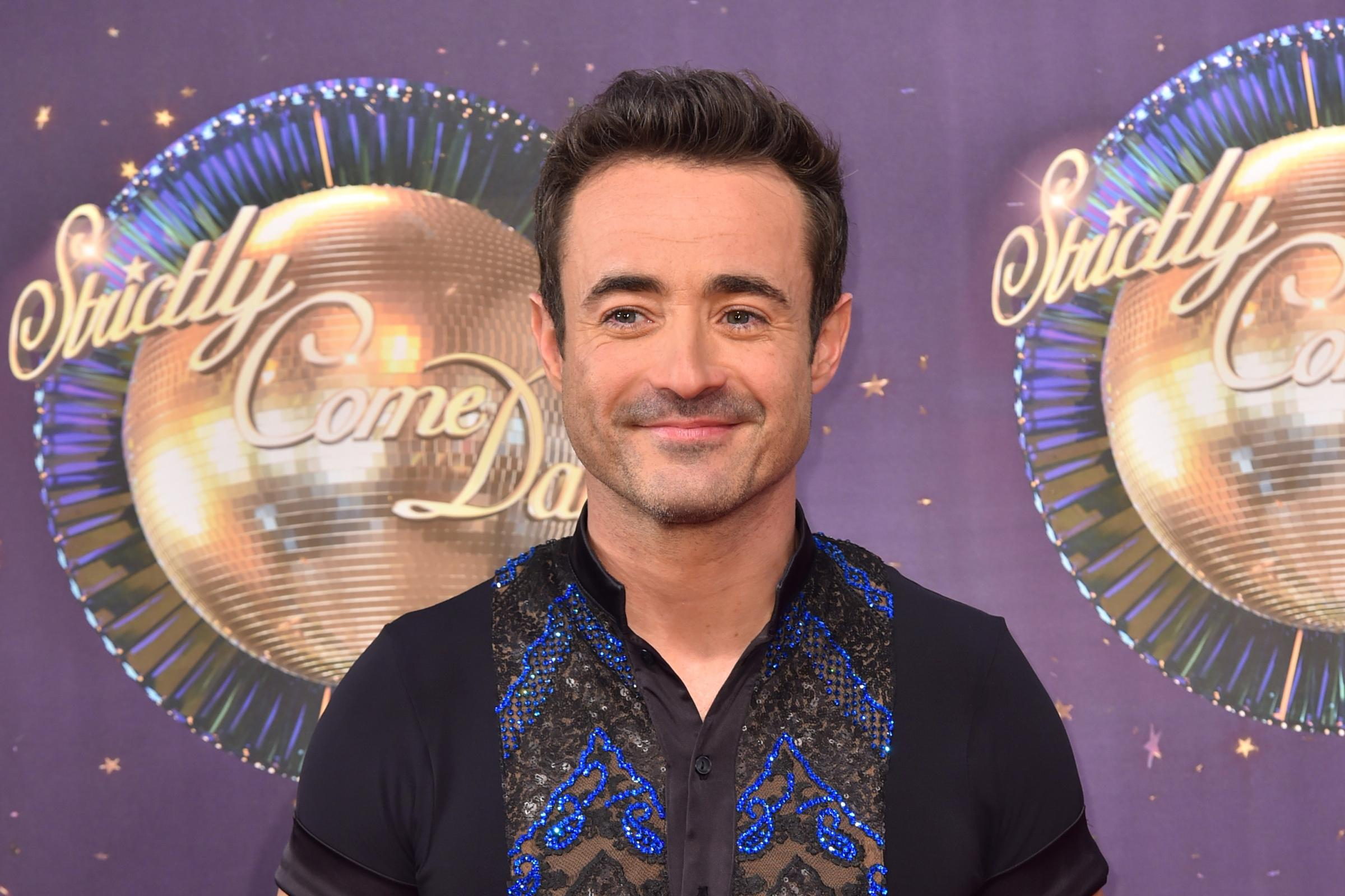 Strictly's Joe McFadden left Holby City in dramatic fashion (Matt Crossick/PA)
