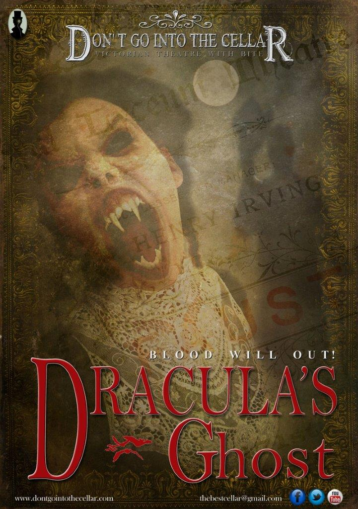 Dracula's Ghost promises a chilliing tale at The Brindley