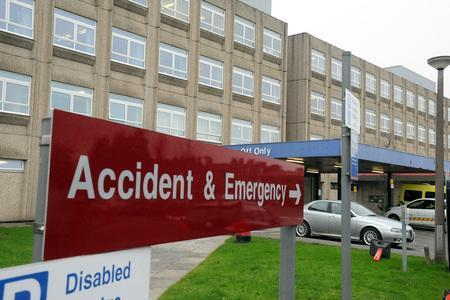 Hundreds of patients waited for an hour to be admitted to A&E during the 'most challenging winter to date' at Warrington Hospital
