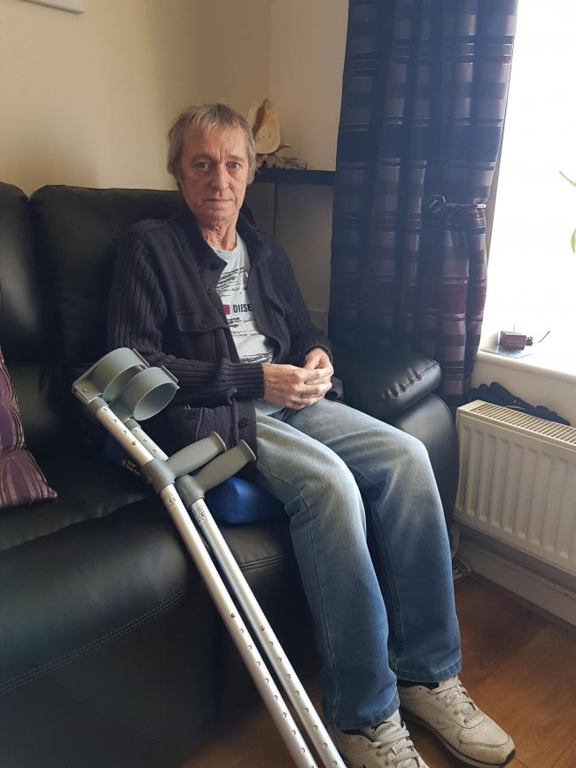 Alan Campbell, 71, left stranded on the Mersey Gateway bridge after his car broke down