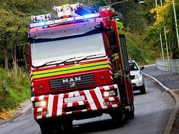 Two fire engines were called to Langley Beck in Widnes
