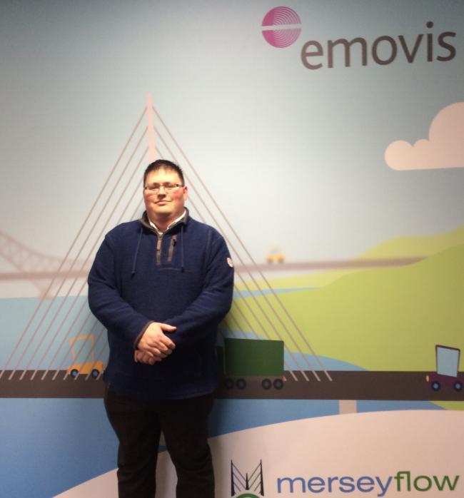 Homeless dad-of-four Robert Probis, from Runcorn, has turned his life around, thanks to Merseyflow