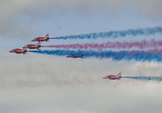 GUIDE: Where you can see the Red Arrows this summer